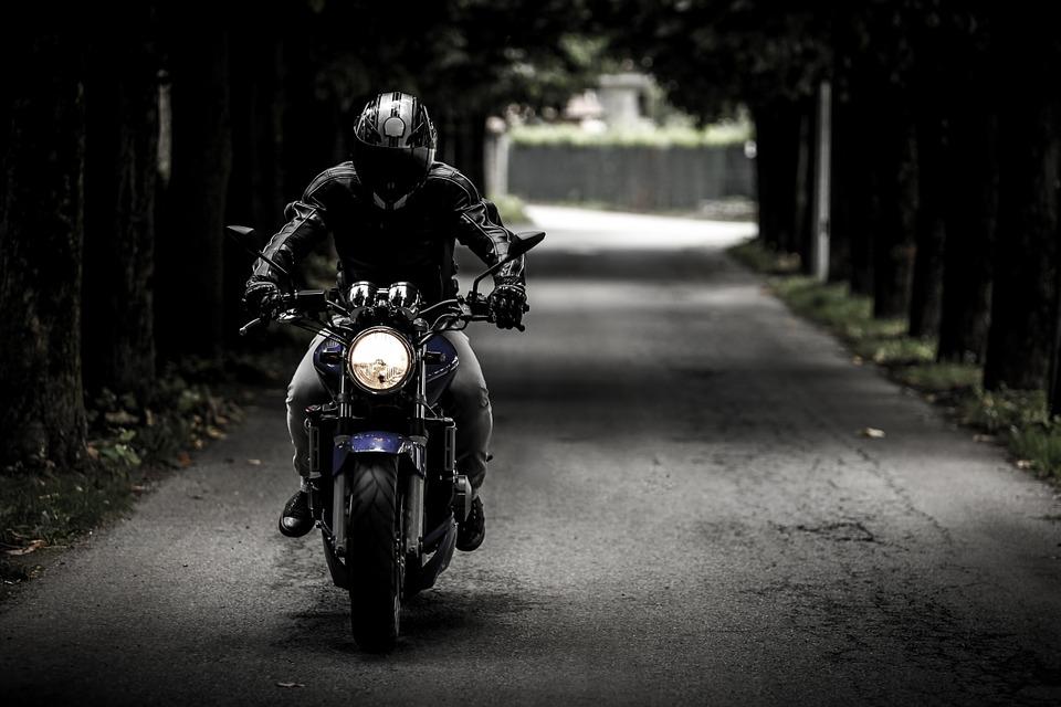 バイク走行
